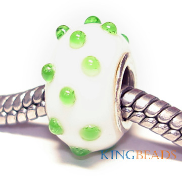 wholesale silver plated core bead