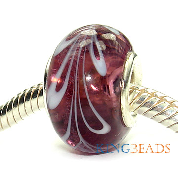 glass bead charms