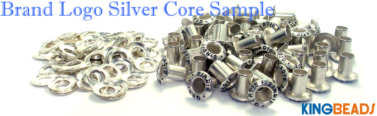 brand logo silver core sample